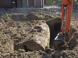 uitgraven tank