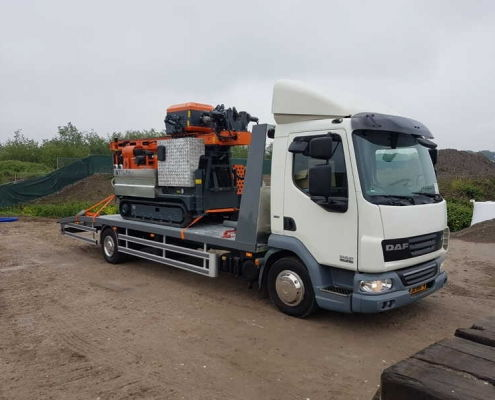 mechanisch-boren-vrachtwagen